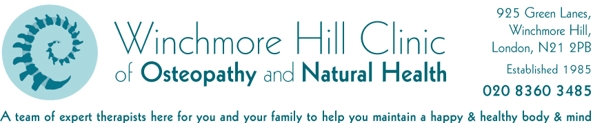 Winchmore Hill Osteopathy and Natural Health Clinic